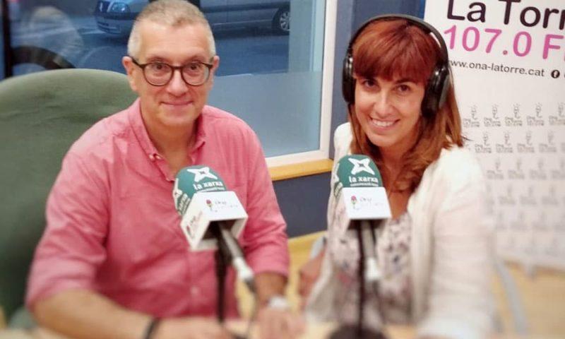 """Josep M. Solé i Mònica Socias al programa """"El Calaix"""""""